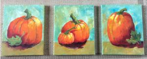 Pumpkins - How to Paint Them